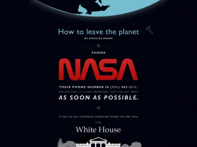 How to leave the planet by Douglas Adams (20120313)2
